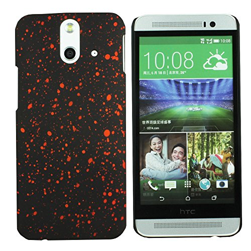 Heartly Night Sky Glitter Star 3D Printed Design Retro Color Armor Hard Bumper Back Case Cover For HTC One E8 Dual Sim - Vintage Orange  available at amazon for Rs.109