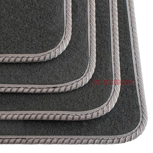 Used, Audi A2 1999-2006 ~ Tailored Grey Carpet Car Mats (Grey for sale  Delivered anywhere in UK