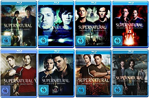 Blu-ray Set * Supernatural - Staffel/Season 1+2+4+5+6+7+8+9