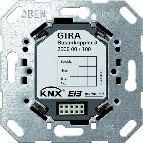 Preisvergleich Produktbild Gira 200900 Busankoppler 3 externer Fühler KNX-Anwendungsmodul EIB