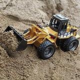 Tianya 1:18 RC Truck 6CH Bulldozer Tractor Control remoto Simulación Constructio Juguetes Regalo para niños