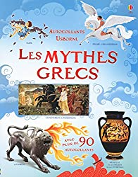Les mythes grecs - Autocollants Usborne (documentaires)