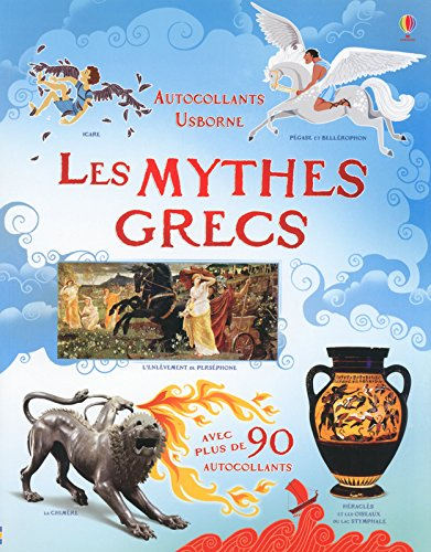 Les mythes grecs - Autocollants Usborne (documenta...