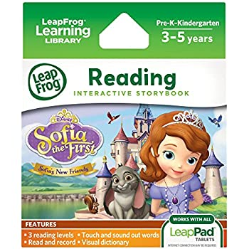 LeapFrog LeapPad Interactive Storybook: Sofia the First Sofia's New Friends