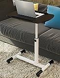 Mesa de ordenador portátil tabla plegable mesita de noche (3 colores disponibles) ( Color : Negro )