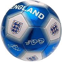 England FA Signature S5 Football, Blue, Size 5