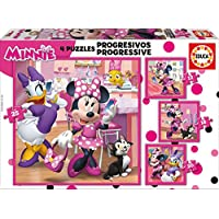 Educa Borrás Mickey and the Roadster Racers Progresivos Minnie Happy Helpers (17630)