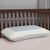 Home Centre Slumber Oasis Memory Foam Gel Pillow(55cm x 35cm x 12cm)- White