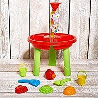 Vinsani® Children Kids Sand Table Play & Water Mill Play Set Sandpit Garden Beach Toy