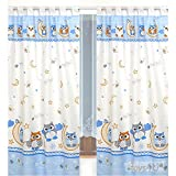 Kinderzimmer-Vorhang, 155x95cm (2 Stück) D29