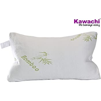 Kawachi Group Shredded Pillow with Miracle Bamboo Hypoallergenic Memory Foam Cover