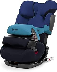 Cybex Silver Pallas-Fix Seggiolino Auto 2 in 1 per Bambini, per Auto con e senza ISOFIX, Gruppo 1/2/3/9-36 kg, dai 9 Mesi ca. ai 12 Anni ca., Blu (Blue Moon)