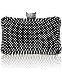 KAXIDY Luxe élégance Cristal Diamant Sacs de Soirée Embrayages Soirée Porte-monnaie Portefeuille Sac à main de Parti Mariage Cocktail