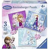 Frozen - 3 puzzles (Ravensburger 07003 9)
