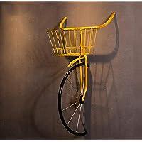 QBDS Décoration de pendaison de vélo en fer forgé vintage américain Pendentif décoratif (Couleur : B)