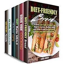 Everything Low Carb Box Set (6 in 1): Over 200 Diet-Friendly Keto, Sous Vide, Vegetarian Recipes and Healthy Desserts (Healthy Diet Meals) (English Edition)