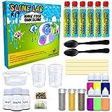Desire Deluxe Fábrica para Hacer Slime DIY | Kit con Todas Las Cosas para Niños de 4 5 6 7 y 8 años