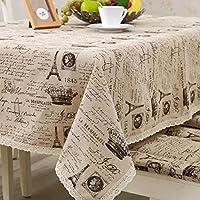 MEICHEN-Il cotone e il lino tovaglia coperchio tavolo nel piccolo