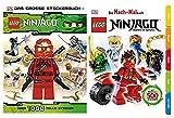 LEGO Ninjago: Das große Stickerbuch - über 1.000 tolle Sticker Taschenbuch + Das Mach-Malbuch Ninjago Taschenbuch