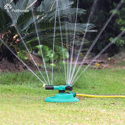 Irrigatori per irrigazione spruzzatore a prato pathonor for Irrigatori automatici per giardino