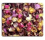 liili Mouse Pad de goma natural mousepad imagen ID: 19881452Cerca de un popurrí de Colorful dried rosas