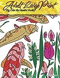 Adult Large Print Big Color By Number Book: Volume 20 (Premium Adult Coloring Books)