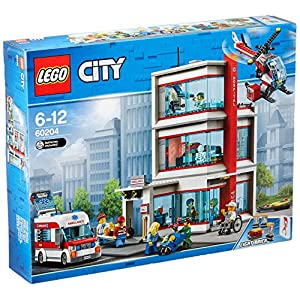 LEGO- City Heroes Ospedale, Multicolore, 60204  LEGO