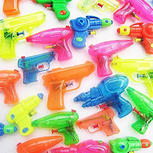 German Trendseller® - 6 x Mega Wasserpistolen Mix ┃ Party Pack ┃ Pool Guns ┃ Mitgebsel ┃ Kindergeburtstag ┃ 6 Stück