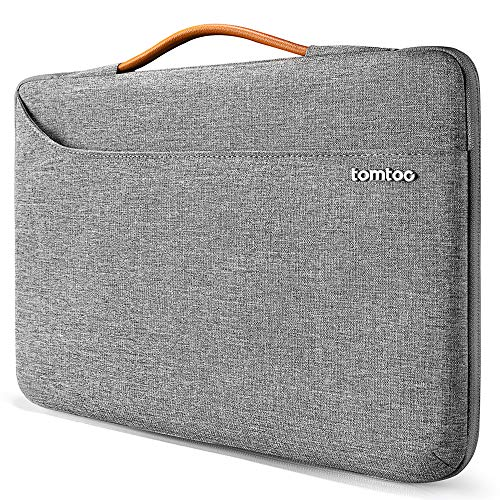 tomtoc Laptoptasche 13.5 Zoll Laptop Hülle Tasche für MacBook Pro 13 2012-2015, Alt MacBook Air 13.3, 13.5 Surface Book 1 & 2, Surface Laptop wasserdicht Notebook Sleeve Damen Herren Laptophülle