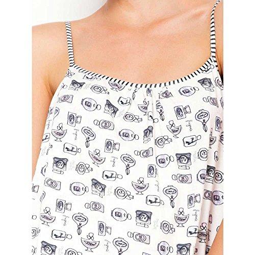 Ragno Camicia da Notte in cotone Donna Art.N12556 GIACINTO