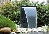 Ubbink Terrassenbrunnen Wasserspiel Dubai Gartenbrunnen Kugel LED
