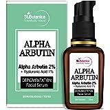 StBotanica Alpha Arbutin 2% + Hyaluronic Acid 1% Depigmentation Face Serum, 20 ml