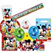 Playful Mickey Ultimate Party Supplies Pack for 8