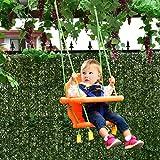 COSTWAY Schaukel Kinderschaukel Babyschaukel Gartenschaukel Schaukelsitz Babyschaukelsitz 56 x 28 x 40 CM
