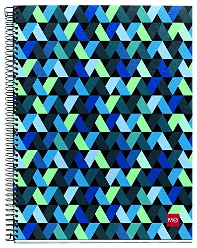miquelrius-2712-notizbuch-4-farben-a4-140-blatt-kariert-origami-3er-pack