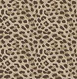 Fine Décor FD42469 UK Tropica Animal Print Wallpaper Brown Papier peint, Marron