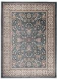 """Grande Tapis d'Orient - TURQUOISE - Motif Persan Traditionnel et Oriental - Tapis de Salon Ultra Doux - """" AYLA """" - 200_x_300_cm..."""