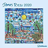 James Rizzi 2020 - Broschürenkalender - Wandkalender - Kunstkalender - 30x30cm
