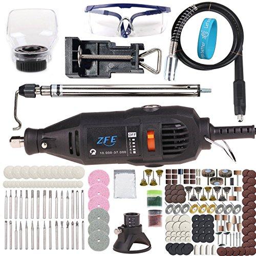 Preisvergleich Produktbild ZFE 161 Teilig Mini Schleifer Schleifgert Multifunktionswerkzeug Schleifmaschine Set