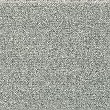Teppichboden Auslegware Meterware Velour uni grau hell 400 cm und 500 cm breit, verschiedene Längen, Variante: 2 x 5 m