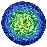 LoLa Farbverlaufswolle Classic Grüne Lagune, Variante:3fach - 200g 1000m