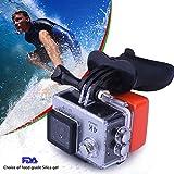 Galleria fotografica Quimat MH05 Surf Spara Bocca Monte Surf Bocchino Bocca Monte selfie Timer con Floaty, cordicella del collo per...