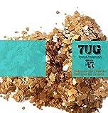 7UG Glimmer/Mica/ Neu kupferrot Schimmernd/mineralisches Effektmaterial Zum Mischen mit Acrylbinder