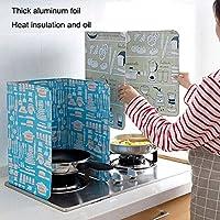 ZREAL Tapa protectora de aceite, resistente, evita salpicaduras para cocina, cocina