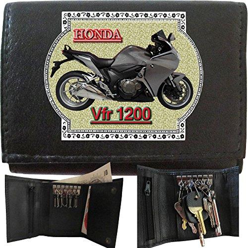 honda-vfr-1200f-gris-klassek-portefeuille-homme-cas-de-cle-avec-porte-cles-moto-cadeau-bike