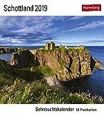 Schottland - Kalender 2019: Sehnsuchtskalender, 53 Postkarten
