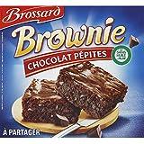 Brossard Brownie Au Chocolat Et Pépites De Chocolat - ( Prix Par Unité ) - Envoi Rapide Et Soignée