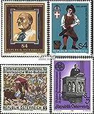 Österreich 1860,1861,1862,1864 (kompl.Ausg.) 1986 Stoessl, Feuerwehr, Teppiche, Paten (Briefmarken für Sammler)