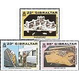 Gibraltar 606-608 (completa.edición.) 1990 Desarrollo (sellos para los coleccionistas)