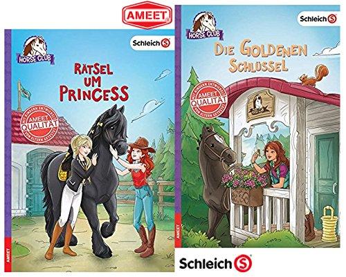 Club - Rätsel Um Princess Gebundene Ausgabe + Schleich Horse Club - Die Goldenen Schlüssel Gebundene Ausgabe ()